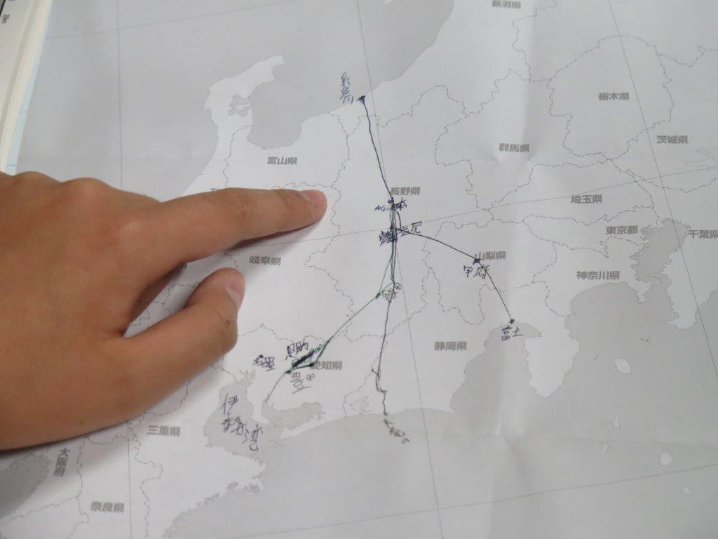 長野県への塩の道
